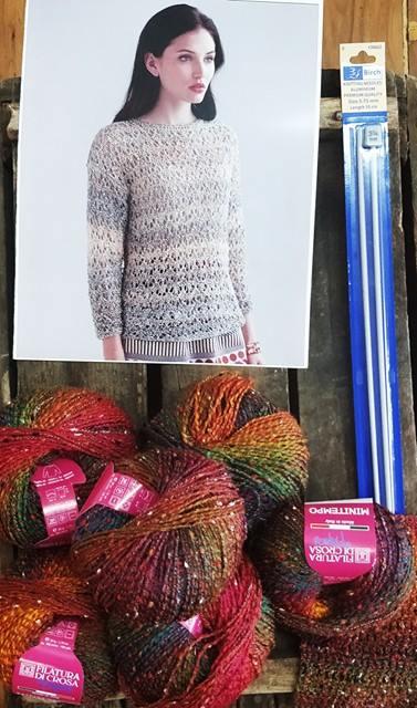 Lace Jumper Knit Kit