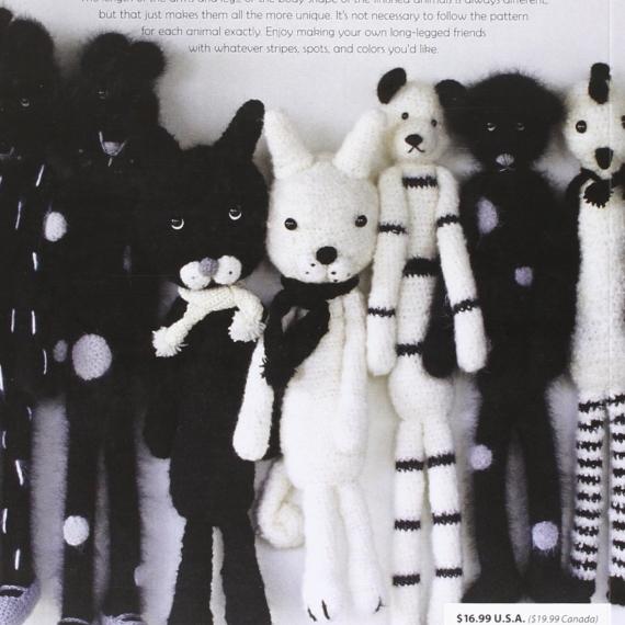 Long Legged Friends Animal Crochet