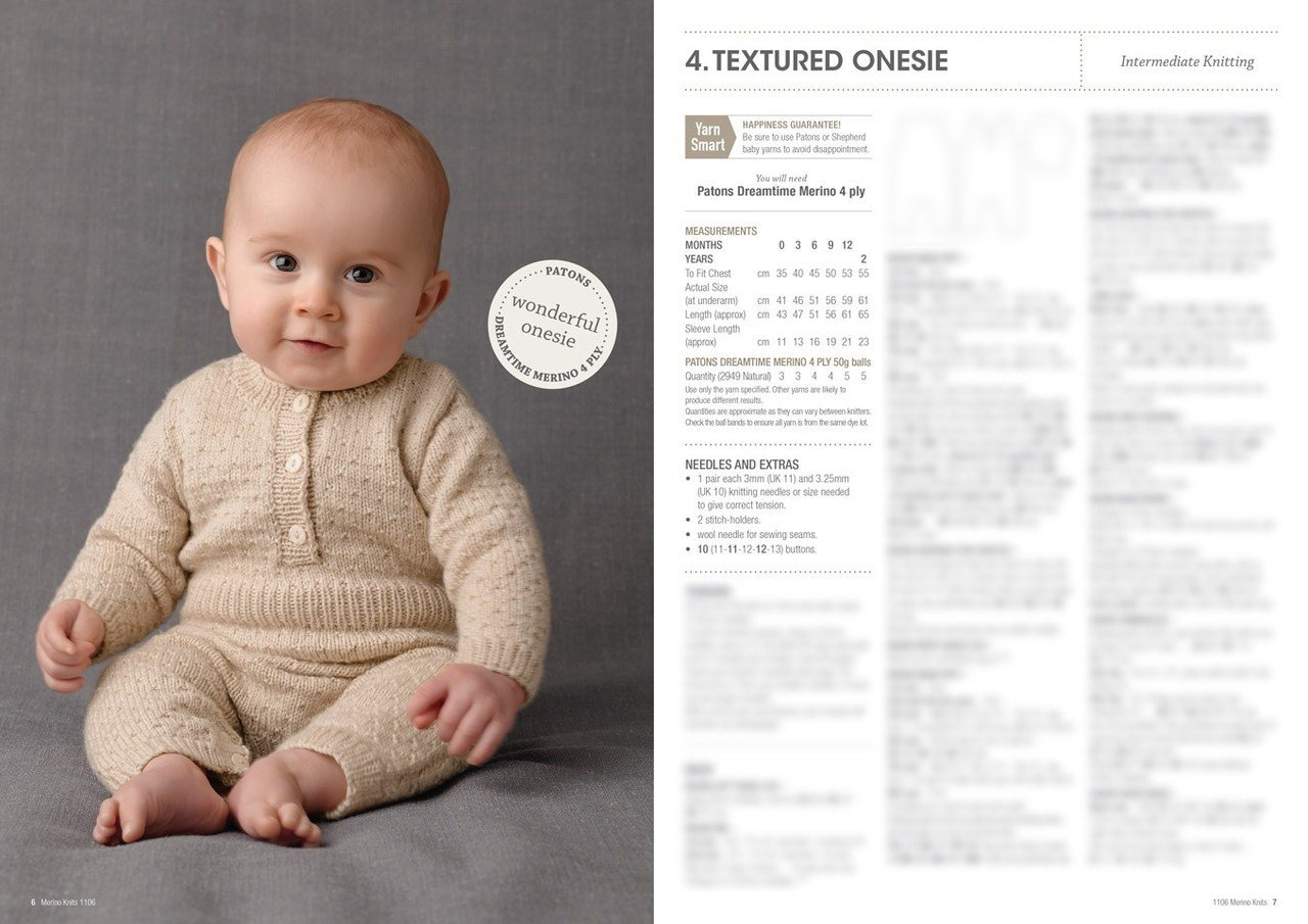 Buy Merino Baby 4ply & 8ply Pattern Book · AfterPay ZipPay · The ...