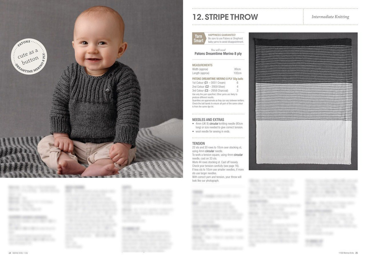 4694e6e71c8d Buy Merino Baby 4ply   8ply Pattern Book · AfterPay Zip · The Wool Room
