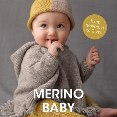 Merino Baby 4ply & 8ply Pattern Book