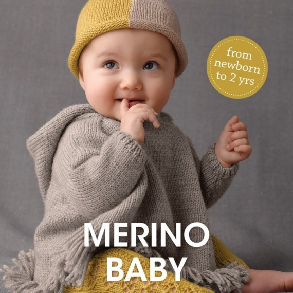 Merino Baby 4ply & 8ply Pattern Book