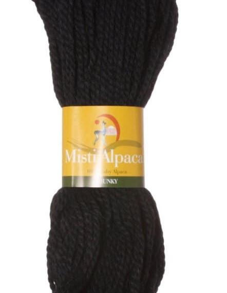 Misti Alpaca Chunky - Black