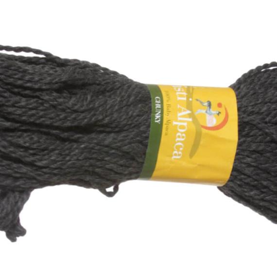 Misti Alpaca Chunky - Charcoal