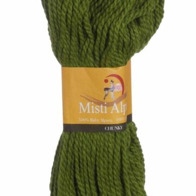 Misti Alpaca Chunky - Green Melange