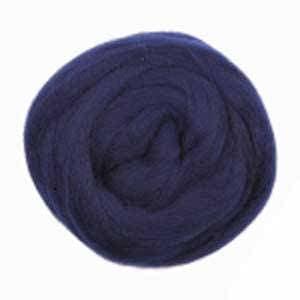 Nako Keche Wool Roving #1138 Navy