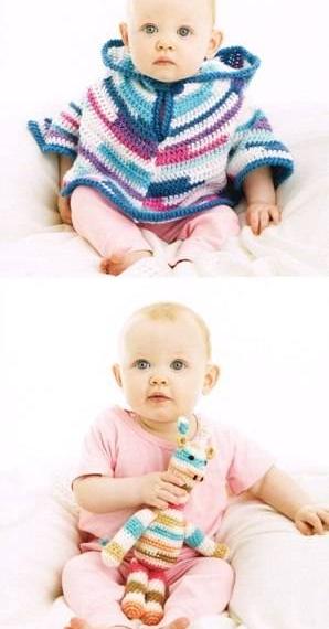 Panda Colour Poppets 8 Ply Crochet