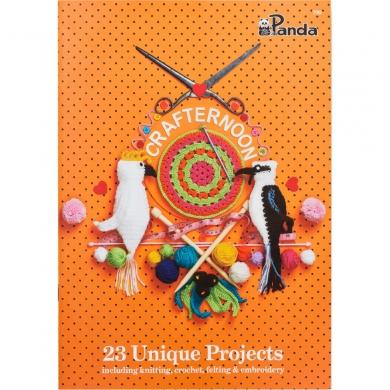 Panda Crafternoon Knitting & Crochet book