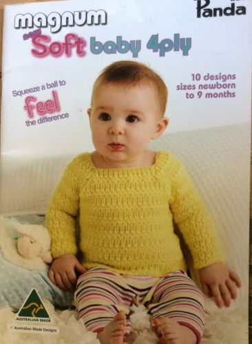 Panda Magnum Soft Baby 4ply Pattern Book #223
