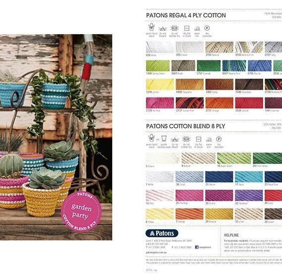 Patons Beach Home Crochet Book