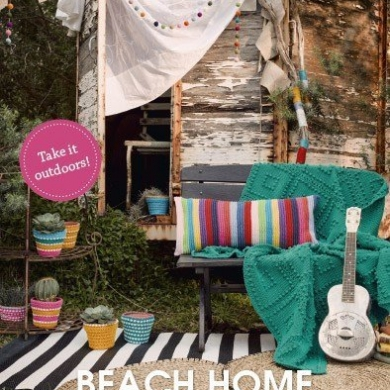 Patons Beach Home Crochet Book