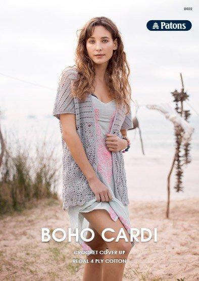 Patons Boho Cardi - 0022