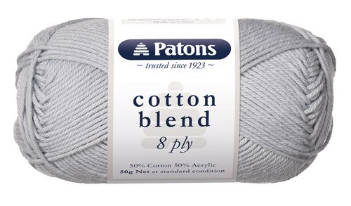 Patons Cotton Blend 8 Ply - Lunar Rock