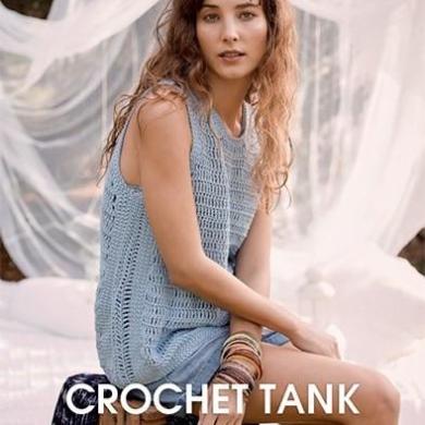 Patons Crochet 8 Ply Tank