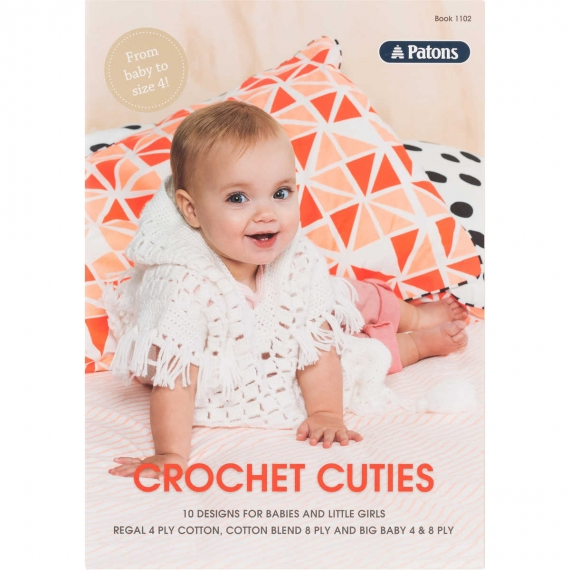 Patons Crochet Cuties Babies & Kids #1102