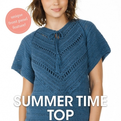 Patons Crochet Summer Time Top