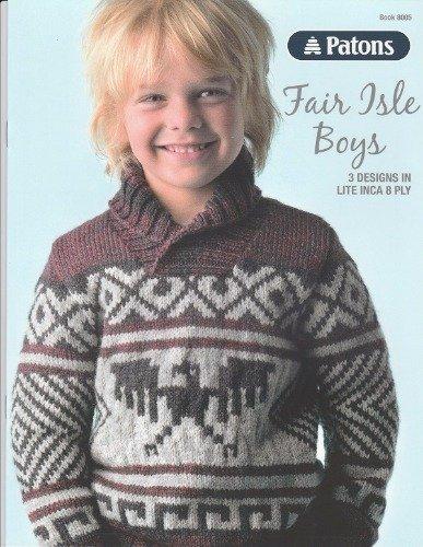 Patons Fair Isle Boys 8ply #8005