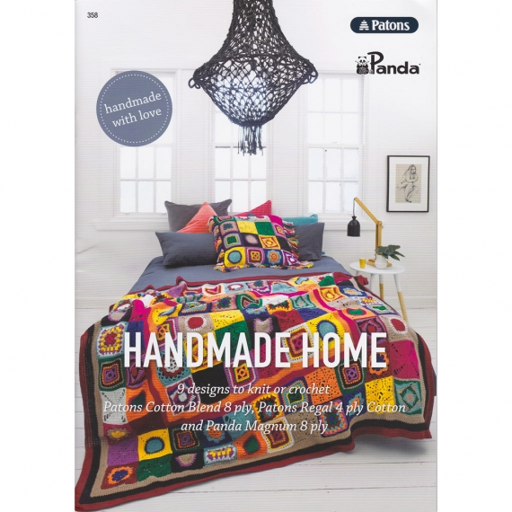 Patons Handmade Home Knit & Crochet Book