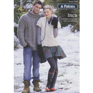 Patons Inca Pattern Book 14 Ply - 1294