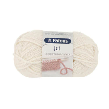 Patons Jet 12 ply - 0100 Cream
