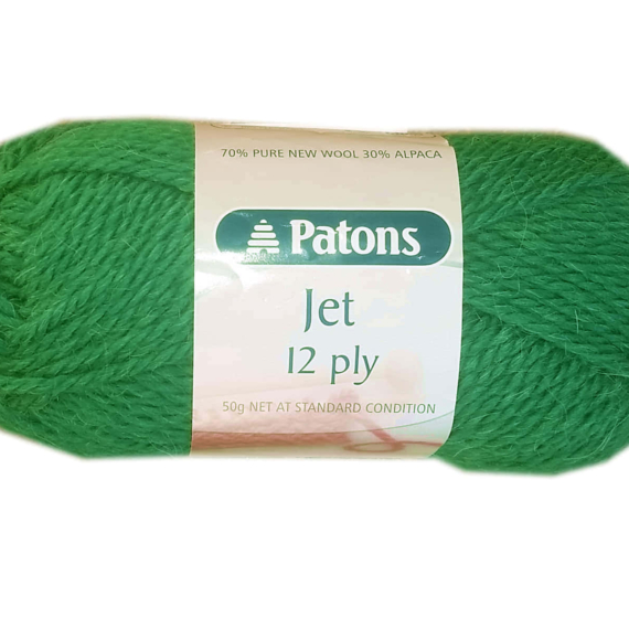 Patons Jet 12 ply - 823 Emerald
