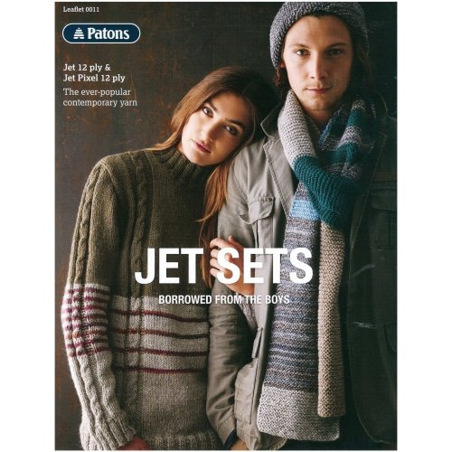 Patons Jet Sets 12 ply Pattern