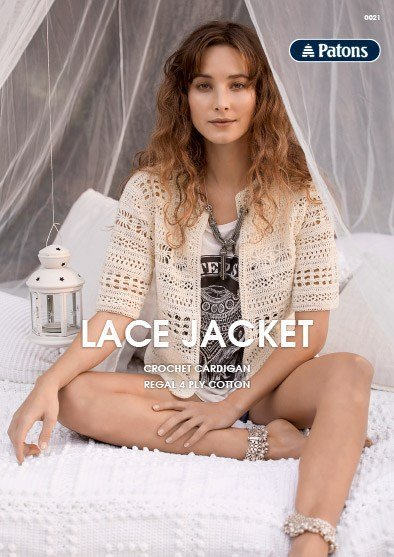 Patons Lace Jacket - 0021