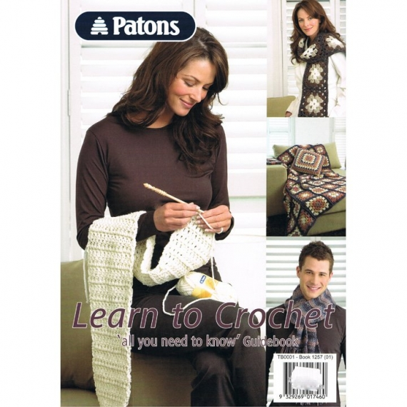 Patons Learn to Crochet Book