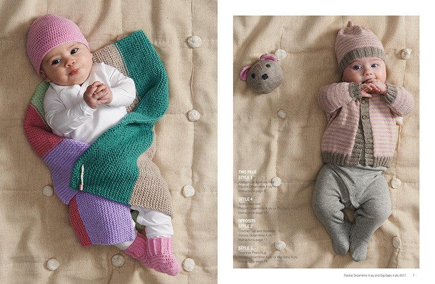 Patons Little Babies 4 ply Knit & Crochet
