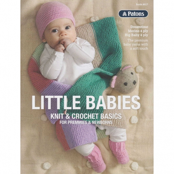 Patons Little Babies 4 ply Knit & Crochet