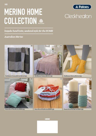 Patons Merino Home Collection 8 Ply
