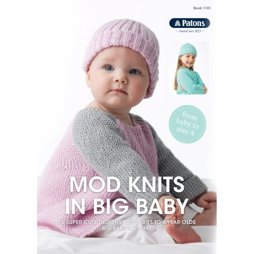 Patons Mod Baby Knits 4 & 8 ply