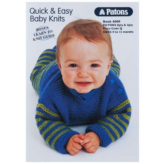 Patons Quick & Easy Baby Knits