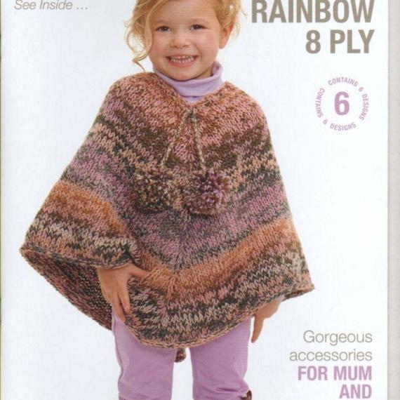 Patons Rainbow 8 Ply Kids & Adults #8010