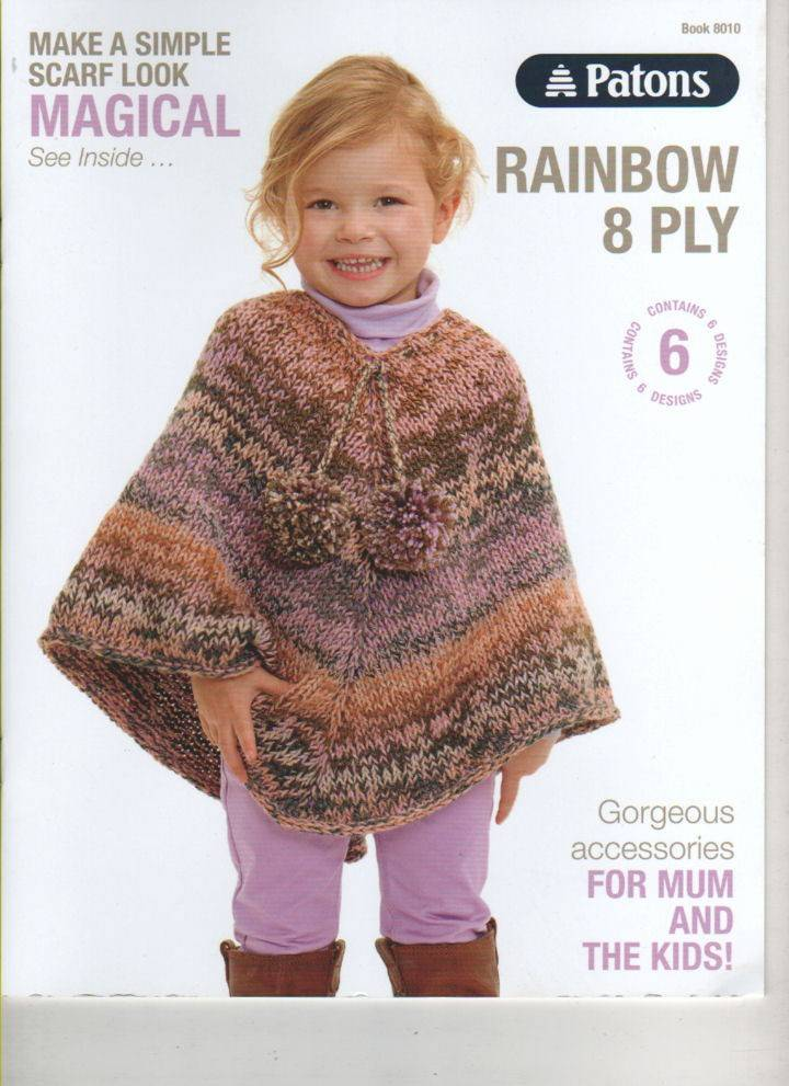 Buy Patons Rainbow 8 Ply Kids Adults 8010 Afterpay Zip The