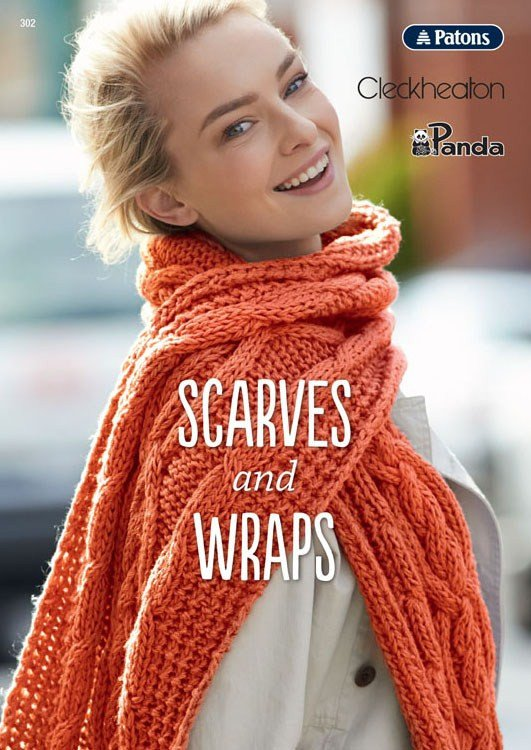 Patons Scarves & Wraps #302