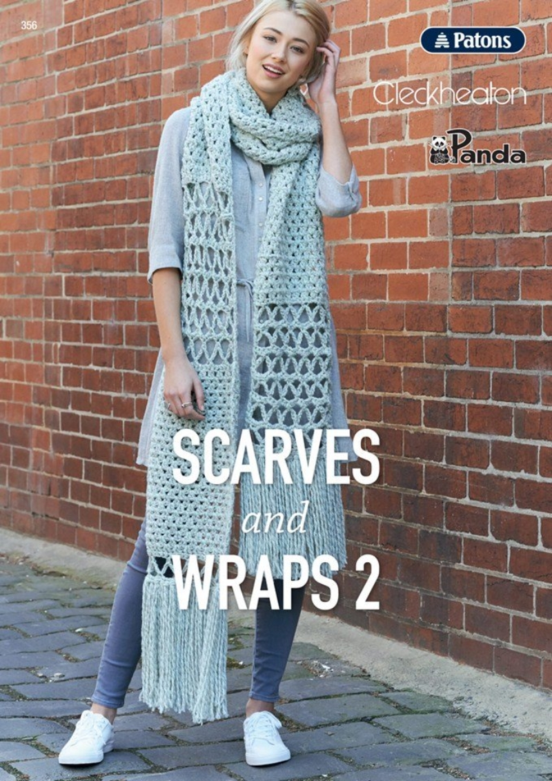 Patons Scarves & Wraps #356