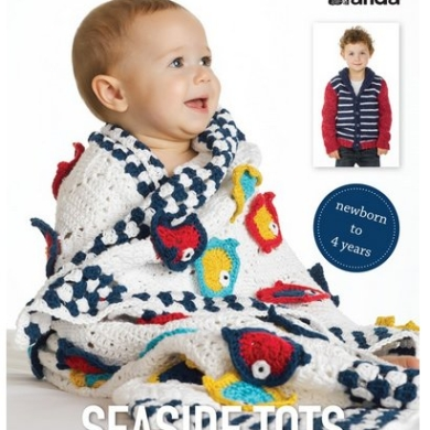 Patons Seaside Tots Pattern Book
