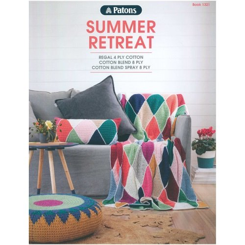 Patons Summer Retreat Book #1321