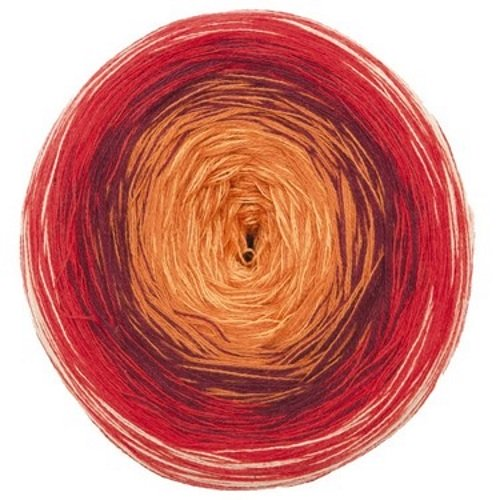 Patons Summer Swirl Cake 8 Ply - 206 Chilli Pepper