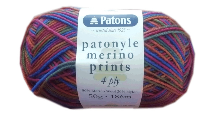 Patonyle Merino Prints 4ply #4444