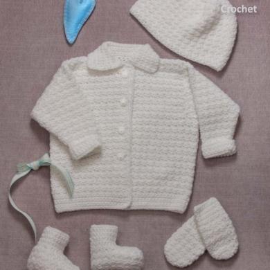 Peter Pan 8ply Crochet Set