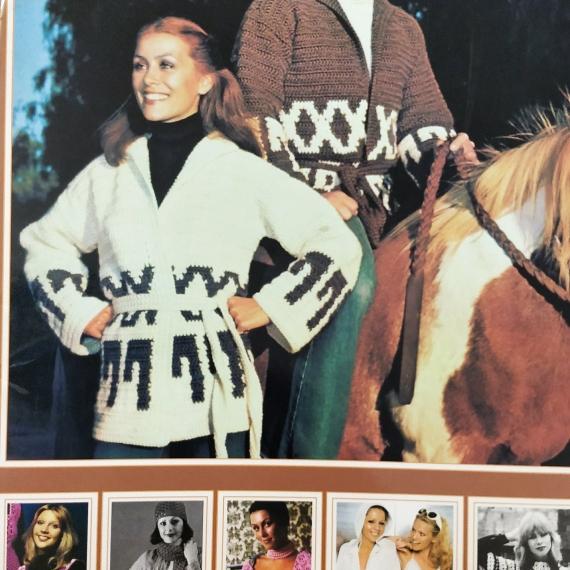 Retro Crochet Designs from 60's & 70's