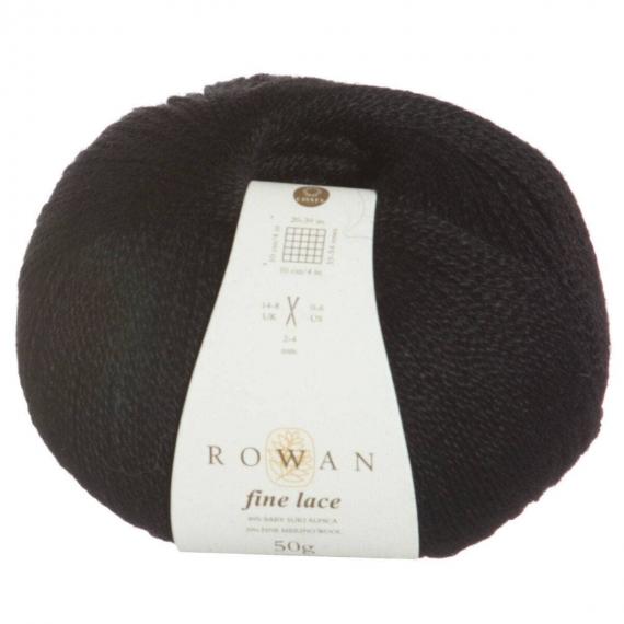 Rowan Lace Yarn Noir