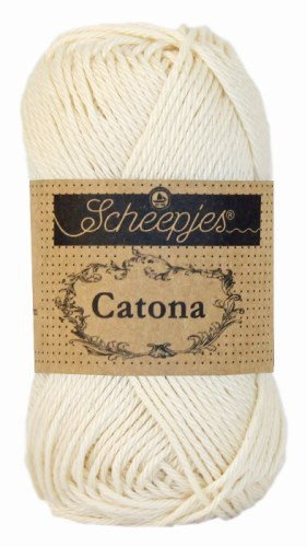 Scheepjes Catona Cotton 100g Old Lace #130