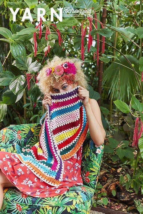 Scheepjes Yarn Magazine Tropical Issue #3