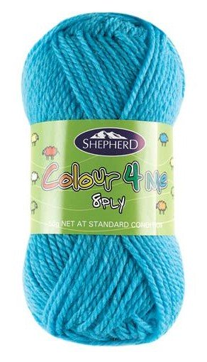 Shepherd Colour 4 me 8ply Aqua - 4957