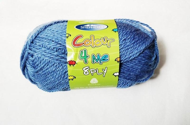Shepherd Colour 4 me 8ply Blue - 4988