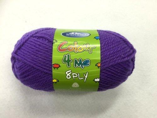 Shepherd Colour 4 me 8ply Purple - 4984