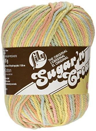 Sugar N Cream Cotton Yarn - Butter cream